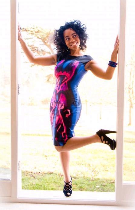 Buy the Karen Millen Kaleidescope dress