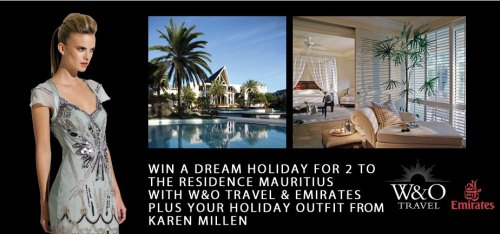 Win a luxury holiday for 2 in Mauritius