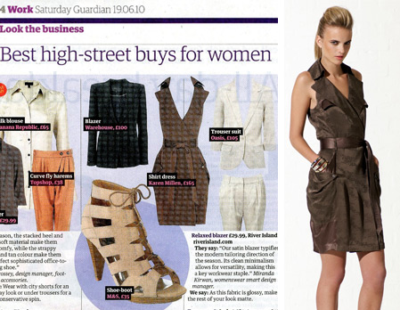 The Safri Dress in the Guardian
