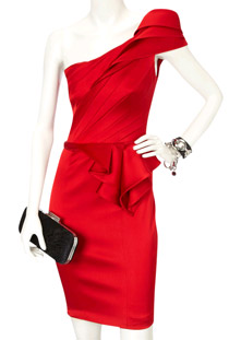 Red Occasion Dress from Karen Millen