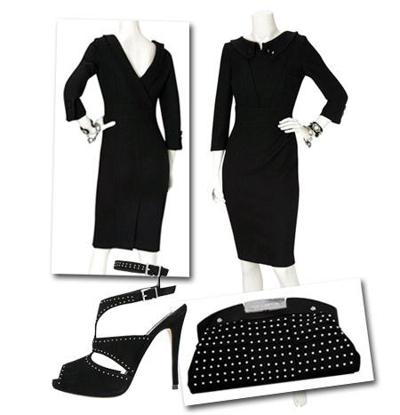 Crepe Backless Dress from Karen Millen