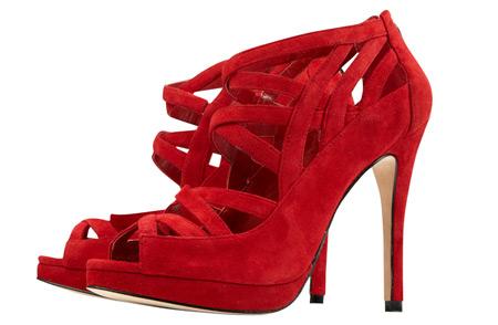 Red Caged Sandal from Karen Millen