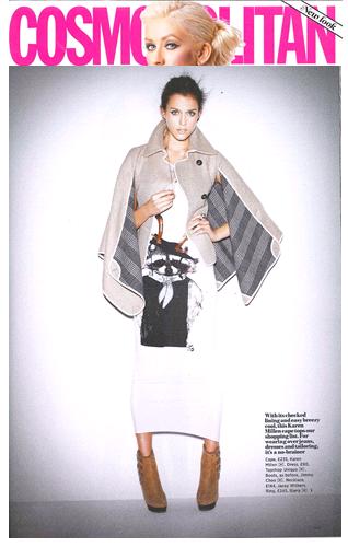 Camel Cape in Cosmopolitan - buy now