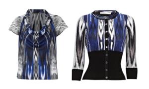 Printed Shirt and Cardigan