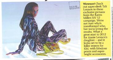Grazia loves Karen Millen's new campaign imagery featuring Tali Lennox