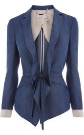 Karen Millen Soft Denim Jacket