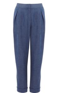 Karen Millen Soft Denim Trousers