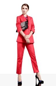 Karen Millen Coral Suit