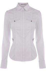 Karen Millen white crisp shirt