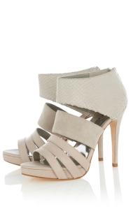Karen Millen Off white sandals