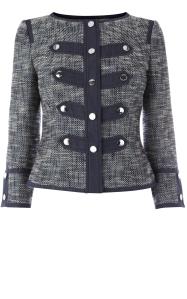 Karen Millen blue Tweed jacket